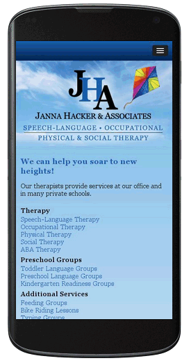 JHA Therapy Responsive
